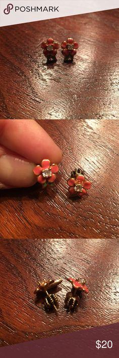 Juicy Couture Flower Stud Earrings Juicy Couture Flower Stud Earrings Juicy Couture Jewelry Earrings