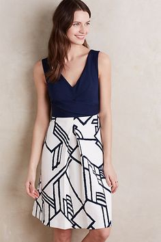 Ardmore Dress #anthropologie | Love this style / fit and color!