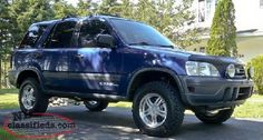 1998 Honda CR-V (Canada) with lift kit and BFG Mud-Terrain Tires