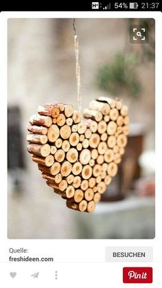 Cool DIY Ideas for Valentines Day! DIY Twig Heart Ornament and DIY Gift Ideas Looking for some homemade Christmas ornaments? If you want to skip store-bought decor, I've made a list to help you with your Christmas decorating. Homemade Christmas Decorations, Diy Christmas Ornaments, Holiday Crafts, Homemade Ornaments, Ornaments Ideas, Valentine Decorations, Heart Decorations, Christmas Ideas, Handmade Christmas