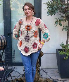 Crochet Beanie Hat, Crochet Cardigan Pattern, Crochet Blouse, Crochet Blanket Patterns, Baby Blanket Crochet, Diy Crochet And Knitting, Crochet Tank, Crochet Gifts, Crochet Clothes
