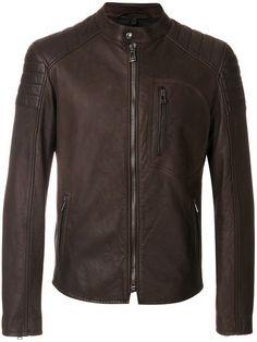 Shop Belstaff zipped jacket