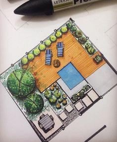 Landscaping Lighting Installation - Landscaping Forest Tattoo - Landscaping Design Drawings Cities - Landscaping Ideas For Side Of House Patio - - Residential Landscaping Design Software Architecture Design, Section Drawing Architecture, Landscape Architecture Drawing, Landscape Design Plans, Garden Design Plans, Drawing Interior, Interior Sketch, Interior Design, Plan Sketch