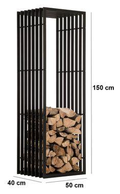 Металлическая дровница для камина от производителя. Подставка под дрова для домой и коттеджей.