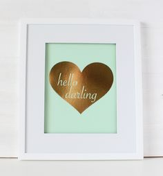 This fun foil print is the perfect addition to your home or office! 5″ x 7″ or 8.5″ x 11″ foil print on thick french cardstock paper Gold or silver foil Eight paper colors to choose from: white, kraft, black, navy, aqua, mint, hot pink, or light pink Made in the U.S.A. Frame not included […]