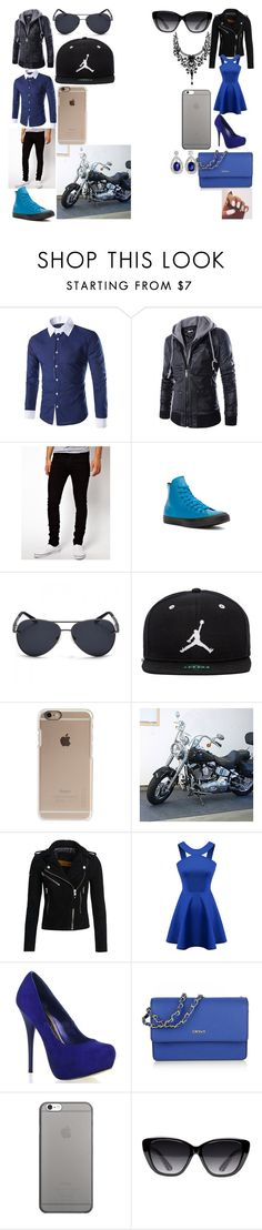 """""""Me and My New BOYFRIEND"""" by brit-girl-d on Polyvore featuring Dr. Denim, Converse, Jordan Brand, Incase, Superdry, Chicnova Fashion, DKNY, Native Union and Elizabeth and James"""