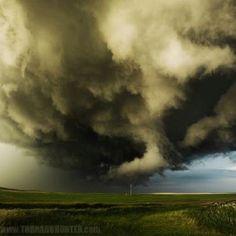 Taken by a storm chaser in Saskatchewan, July 2012.