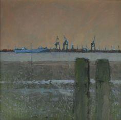 Colin ORCHARD-Towards Felixstowe