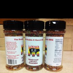 Low salt seasoning for those who are cutting salt