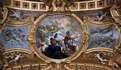 Claudio Francesco Beaumont - Aeneas Legend: Aeneas Landing on the Mouth of the Tiber, 1731-33, Fresco, Palazzo Reale, Turin