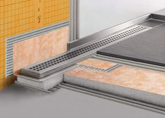 Schluter Kerdi Water proofing for Walls and Floors