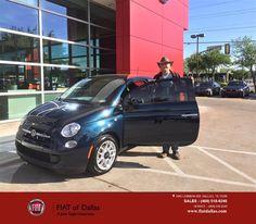 https://flic.kr/p/Faxf9X   Congratulations Scott on your #FIAT #500 from Jessica Rubio at FIAT of Dallas!   deliverymaxx.com/DealerReviews.aspx?DealerCode=F741