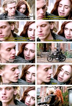 Jace looks so funny in the fourth picture