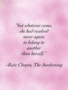 Kate Chopin, The Awakening