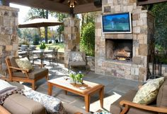 Outdoor room, now that is home.