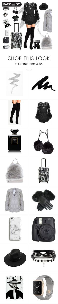 """packing and let's go!"" by virganajwa ❤ liked on Polyvore featuring NYX, Alice McCall, Chanel, BCBGeneration, Brunello Cucinelli, Vera Bradley, Miss Selfridge, Fuji and WithChic"