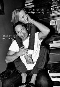gillian anderson and david duchovny relationship 2015