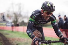 Sven Nys finished 2nd in Bpost Bank Trofee Essen, magnificent shot this one!!! Chapeau, Balint! | by Balint Hamvas cyclephotos.co.uk