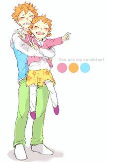 Hinata Shoyo & Hinata Natsu | Haikyuu!!