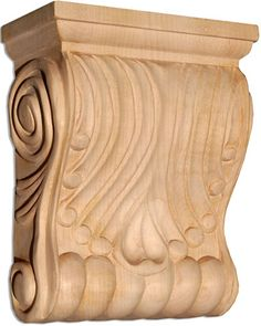 Columbus corbels in cherry, maple and oak