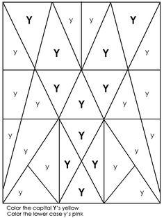 hidden picture letter worksheets