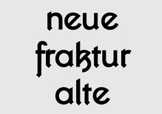 Kottifraktur on Behance . Graphic Design Inspiration . Cool Font . Neue Fraktur Alte . Typography .