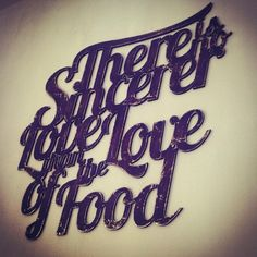 There is no sincerer love than the love of food - I agree! Prague, Blog, Blogging