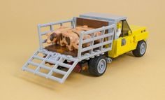 LEGO farm truck pulls its weight | The Brothers Brick | LEGO Blog