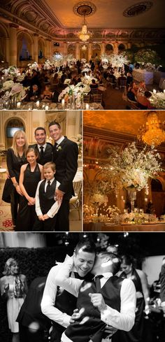 New York City Wedding at the Plaza Hotel from Brian Hatton Photography | Style Me Pretty