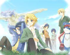 Digimon Adventure - Side B by ~kurot on deviantART