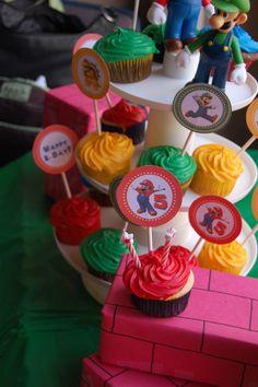 Mario Cupcakes #Mario #Party #MarioParty