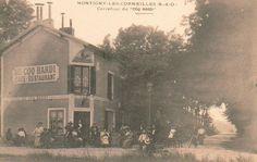 """Le café-restaurant """"Au Coq Hardi"""" de Montigny-Les-Cormeilles (Seine-et-Oise) http://www.geneanet.org/search/collection"""