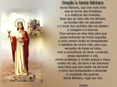 Dia de Santa Bárbara Imagem