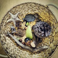 Autumn Treasure basket