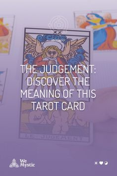 The Judgement Card possesses significant meaning when it shows itself during a reading. Be True To Yourself, Finding Yourself, Astrology And Horoscopes, Trump Card, Archangel Gabriel, Major Arcana, Tarot Reading, Tarot Decks, Numerology