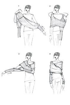 Grösseninfo: -Gesamtbreite ca. 260 cm, Länge ab Rückenmitte in Gr. S ca. 47 cm (kann je nach Größe leicht variieren) Details: -Wer Drapagen mag, wird diesen Wickel-Cardigan lieben. -Der breite, schalähnliche Cardigan besitzt Ärmel und eine langes Rumpfteil, das um den Oberkörper gewickelt wird. -Je nach Wicklung sind unterschiedliche Styles möglich.