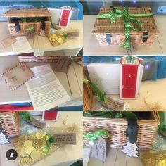 The Badger Class Christmas Elf on the Shelf sent the teachers a Fairy Nice Magic Door as a thank you gift at the end of term so that he could come back and visit easily throughout the year! 💫