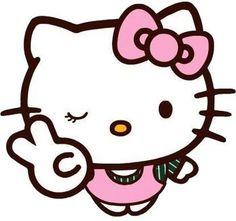 Hello Kitty Wink Peace