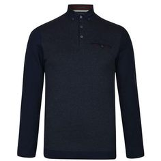 Hataway Polo Shirt Description: Long sleeved Ted Baker Hataway polo shirt has a soft cotton construction with subtle houndstooth panelling. This shirt features a triple button placket, chest pocket and button down collar.Size selection: Standard sizingFits true to size, take your normal sizeCut with a regular... http://qualityclothing.me.uk/hataway-polo-shirt-5/