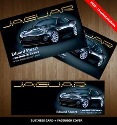 Cartão de visita Moderno  + Capa p/ Facebook  (Uso pessoal) Business Card + Facebook Cover Personal user