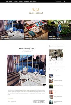 Lifestyle Fashion Blogger Template Lifestyle Fashion, Blogger Templates, Minimalist Design, Polaroid Film, Minimal Design