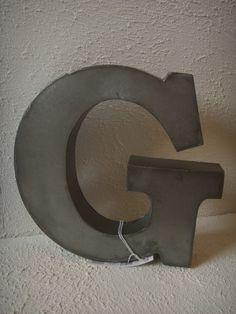"Zinken letter ""G"""
