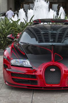 #BugattiVeyron Grand Sport L'Or Rouge
