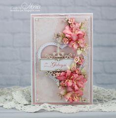 Card with die-cuts - Scrapbook.com
