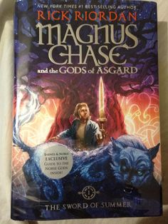 Rick riordans new Magnus chase and the gods of Asgard