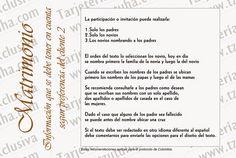 Tzutuha,Tarjetería y accesorios exclusivos para eventos sociales ..: Sugerencias para diseñar el texto de sus tarjetas Personalized Items, Ideas, Texts, Handmade Cards, Names, Invitations, Tips, Boyfriends, Accessories