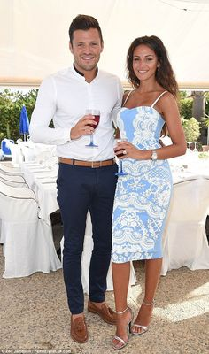9dc8a0dc606 Michelle Keegan moves into dream Essex home with Mark Wright. Casual Wedding  Outfit GuestMale ...