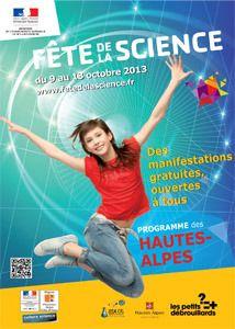 GAP - Du 9 au 13 octobre : FÊTE DE LA SCIENCE – Expos et ateliers à partir de 8 ans, par la Société mycologique des Hautes-Alpes