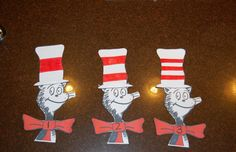 Dr. Seuss Number recognition game.