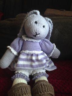 Daisy rabbit from mjt pattern